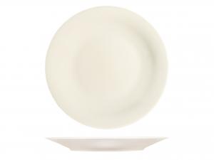 H&h Charme Piatto Tondo, Porcellana, Ivory, 31cm