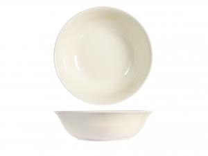 H&h Charme Insalatiera, Porcellana, Ivory, 23cm