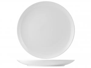 Piatto In Porcellana, ø 50 Cm, Bianco