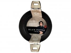 H&h Alessandro Borghese Blackpepper Casseruola Antiaderente,