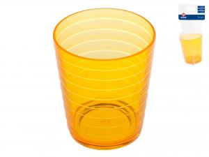 Bicchiere Bagno Acrilico Brio Aranc10 2777