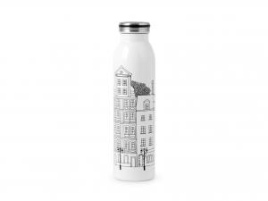 H&h Bottiglia Termica Inox 18/10, City, 0,60lt