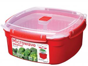 Cuocivapore Polipropilene Microwave Quadr3,2 1103