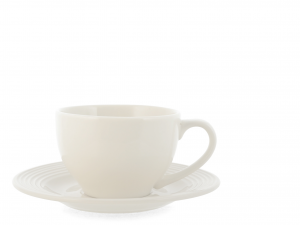 6 Tazze Porcellana Newport Con Piatto Cc220