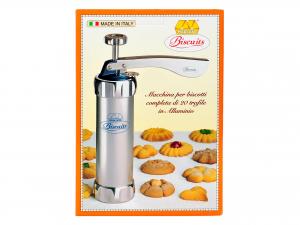 Macchina Biscotti Marcato Biscuits Argento