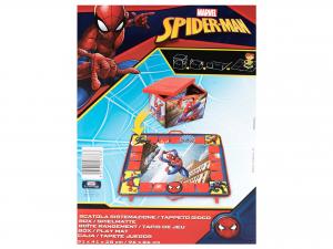 Lulabi Contenitore Con Tappeto Gioco Spiderman