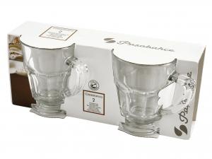 Confezione 2 Mug In Vetro Casablanca Cl27