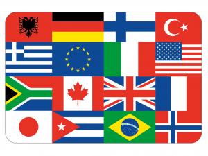 Tovaglietta Pp Dec Flag