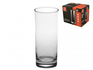 Confezione 6 Bicchieri In Vetro Cortina Cool Cl40 B6