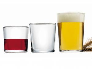 Scatola 12 Bicchieri In Vetro Bodega Maxi Cl50