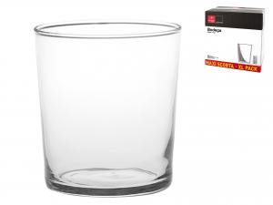 Scatola 36 Bicchieri In Vetro Bodega Maxi Cl50