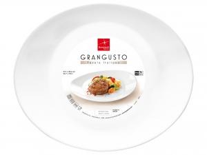Bormioli Rocco Grangusto Set 6 Piatti Steak, Opale, 31x26cm