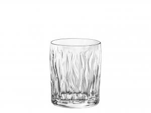 Confezione 6 Bicchieri In Vetro Wind Acqua Cl30