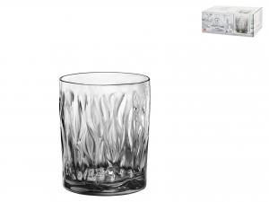 Confezione 6 Bicchieri In Vetro Wind Lightonyx Cl30