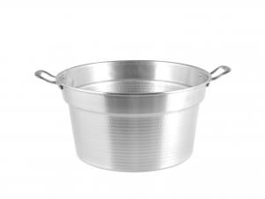 Caldaia In Alluminio Pesante Spazzolata Cm20 3l