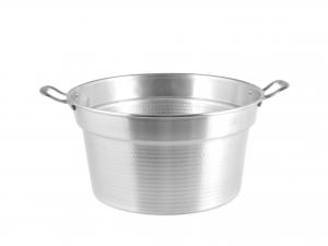 Caldaia In Alluminio Pesante Spazzolata Cm22 3,5l