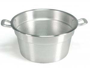 Caldaia In Alluminio Pesante Spazzolata Cm38 13l