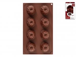 Stampo 8 Budini Silicone Choco     F8014