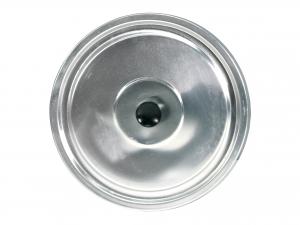 Coperchio In Alluminio Piano Per Caldaia Cm38