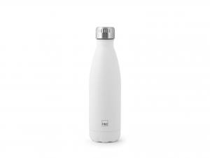 H&h Bottiglia Termica Inox 18/10, Bianco, Lt 0,5