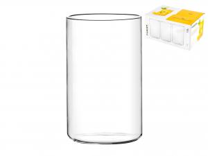 Confezione 6 Bicchieri In Borosilicato Fusion Bibita Cc550