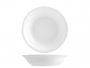 Confezione 6 Piatti Iris Bianco Fondo Cm20