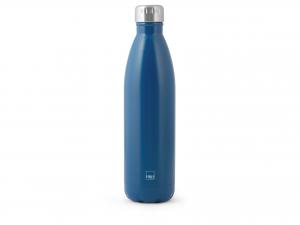 H&h Bottiglia Termica Inox 18/10, Blu, Lt 0,75