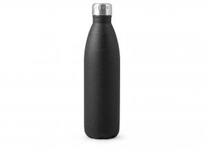 H&h Bottiglia Termica Inox 18/10, Nero, Lt 0,75