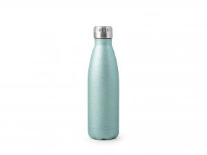 H&h Bottiglia Termica Inox 18/10, Azzurra, Lt 0,50