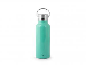H&h Bottiglia Termica Inox 18/10, Verde, Lt 0,5