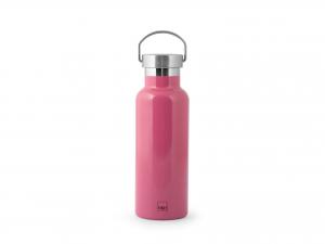 H&h Bottiglia Termica Inox 18/10, Fucsia, Lt 0,50