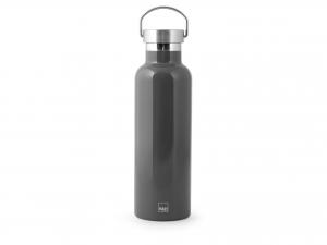 H&h Bottiglia Termica Inox 18/10, Grigio, Lt 0,75