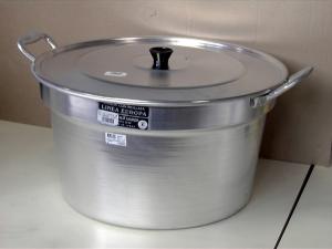 Pentola Pomodoro In Alluminio Con Coperchio Cm70