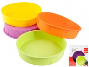Tortiera Silicone Colore Assortito Cm25,5    F903