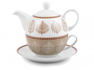 Tea Forato One Porcellana Decoro Michelle