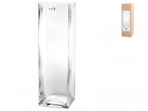 Vaso In Vetro Soffiato Cm 8x8x28h