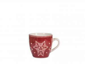 12 Tazze Caffe' Nbc Grace Ros Senza Piatto 100*d