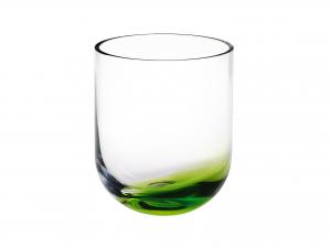 Vaso In Vetro Fnd/verd 13x15,4h