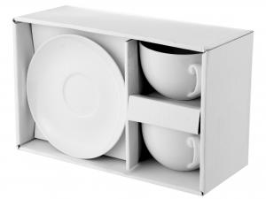 Confezione 2 Jumbo Porcellana Bianco Cc380 Con Piatto    541