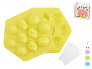 Stampo Silicone 10/cakepop Pastel  5461s
