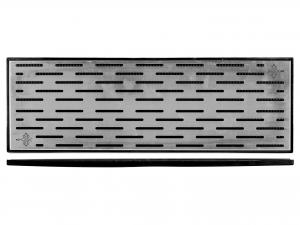 Tappetino P/bic Ner C/gr 60x20