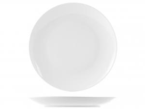 Piatto In Porcellana, ø 30 Cm, Bianco