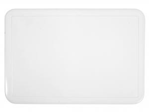 Tovaglietta Pvc Rettangolare Bianco 43x28  8008