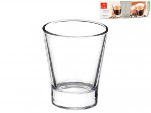 Confezione 3 Bicchieri In Vetro Caffeino Cl8,5