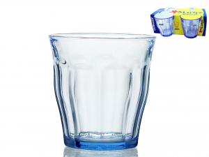 Confezione 4 Bicchieri In Vetro Picardie Marine Cl31
