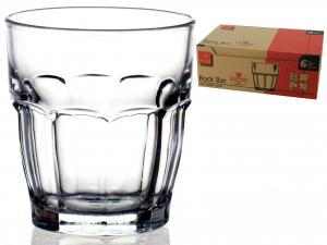 Confezione 6 Bicchieri In Vetro Rockbar Juice Cl20