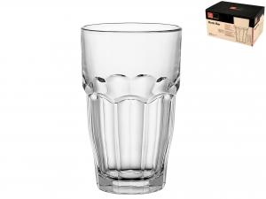 Confezione 6 Bicchieri In Vetro Rockbar S/cooler 65