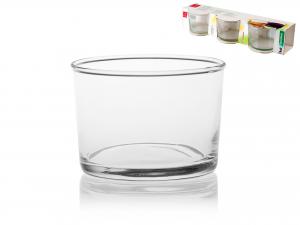 Confezione 3 Bicchieri In Vetro Bodega Mini Cl20