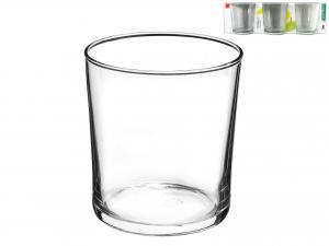 Confezione 3 Bicchieri In Vetro Bodega Medium Cl37