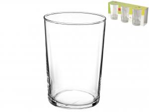 Confezione 3 Bicchieri In Vetro Bodega Maxi Cl50